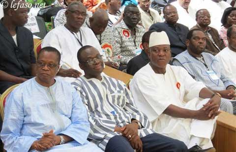 Rentrée politique du CDP, parti présidentiel du Burkina Faso. Après des vacances courtes et studieuses…!
