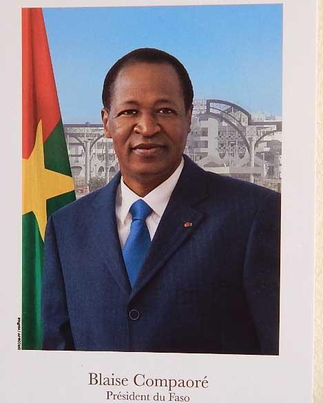 Présidence du Faso: Et voici la nouvelle photo officielle de Blaise Compaoré