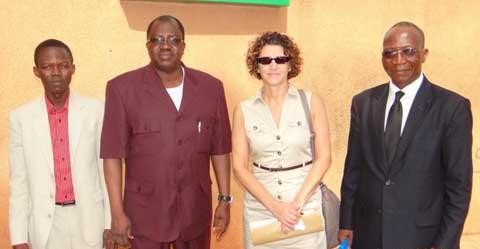 Daniela Karetas, responsable  à l'AIEA: «En matière de médecine nucléaire, le Burkina Faso est un exemple d'engagement»