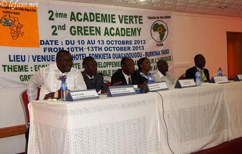 Développement durable: Le cheval de bataille des partis écologistes et verts d'Afrique