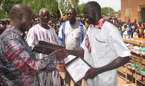 Ecole de Siéna: Les acteurs des résultats exceptionnels de 2013 récompensés