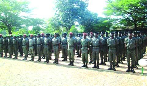 Formation militaire initiale: Les stagiaires forestiers et douaniers du contingent 2013 au bout du tunnel