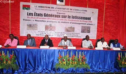 Lotissements: Des états généraux et de grandes attentes