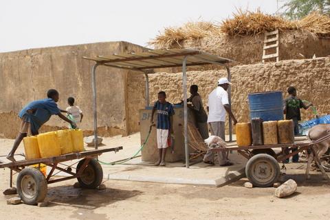 L'accès à l'eau courante en baisse à Ouagadougou