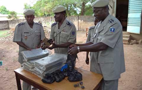 BANFORA: Des trafiquants de drogue arrêtés.