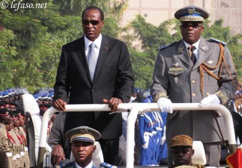 Le 53e anniversaire de l'armée burkinabè sous le signe de la sécurité régionale