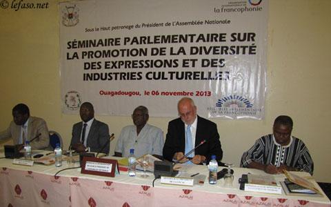 Promotion de l'industrie culturelle: Un séminaire pour mieux impliquer les députés