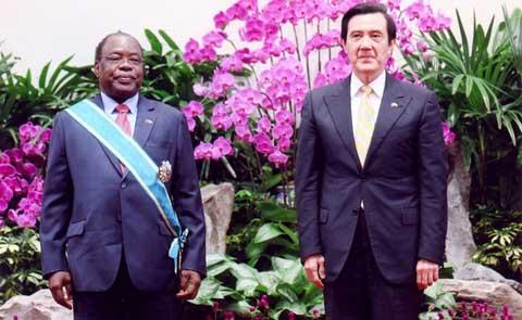 Taiwan: L'Ambassadeur Jacques SAWADOGO élevé à la dignité de