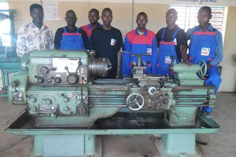 Formation technique et professionnelle à Bobo: Un centre construit grâce à l'argent de la bière
