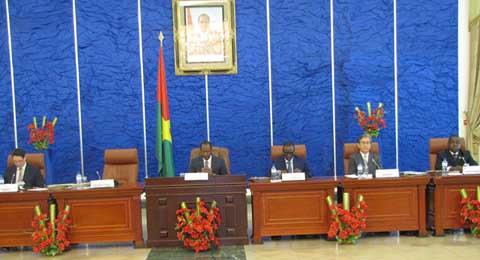 Conseil présidentiel  pour l'investissement: Des recommandations au gouvernement pour booster le climat des affaires au Faso
