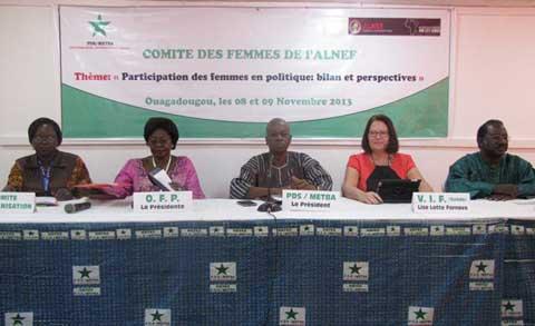 Participation de la femme en politique: Le coup d'accélérateur du Forum du réseau de la gauche africaine (ALNEF)