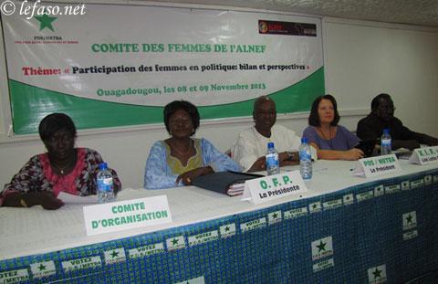Promotion du leadership féminin: Les partis africains de la gauche interpellés