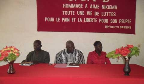 Rentrée syndicale Aimé Nikièma: Filsah, Zéphirin Diabré, chefs coutumiers… sur la sellette