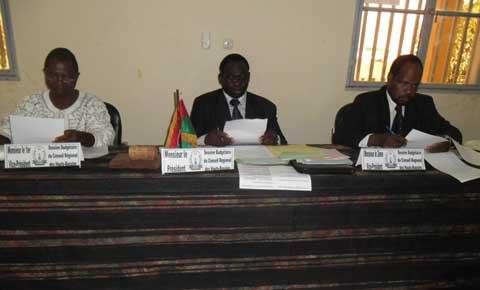 Conseil régional des Hauts-Bassins: Le budget 2014 en examen