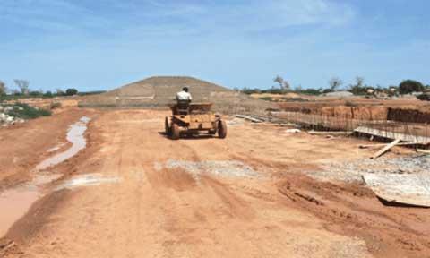 Barrage de Guitti: quatre ans de travaux sans fin