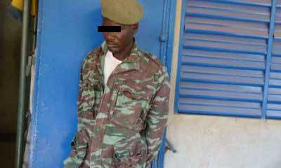 Escroquerie: un usurpateur de titre, portant illégalement la tenue militaire dans les mailles de la Gendarmerie