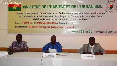 Code de l'urbanisme et de la construction au Burkina: journalistes et les maires imprégnés du contenu