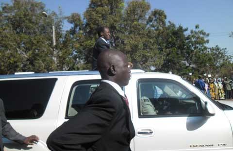 Blaise Compaoré à Bobo: Une visite aux allures de pré-campagne