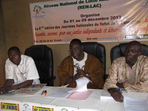 Lutte contre la corruption: Le REN-LAC en appelle à la justice burkinabè