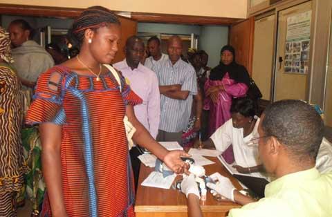 Dépistage du diabète à Bobo: Le coup de pouce du Lions club Bobo Witara