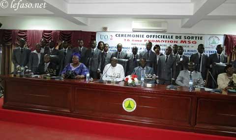 Université Ouaga II: La 16e promotion MSG sur le marché de l'emploi
