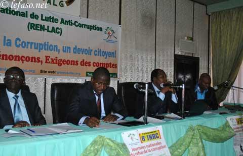 Lutte contre la corruption au Burkina: Le REN-LAC pour la création d'un pool anti-corruption dans l'organigramme judiciaire