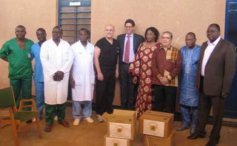 Fondation ATEF OMAÏS: des dons pour lutter contre le bec de lièvre