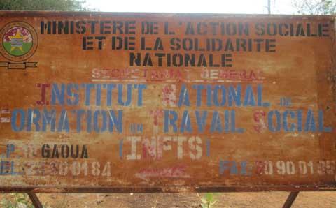 Gaoua: Sit-in des étudiants de l'école de l'action sociale