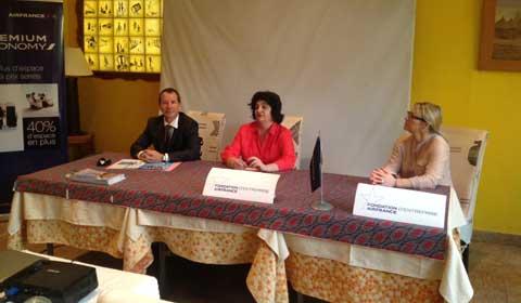 Humanitaire: la Fondation Air France aux côtés de l'enfance en difficulté