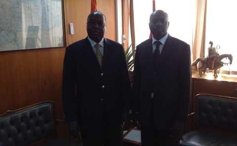 Zephirin Diabré à Abidjan,