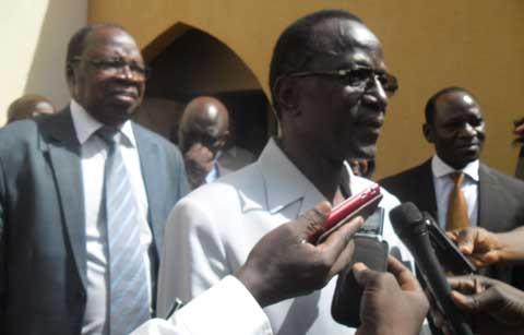 Convention de l'UPR: «Vous êtes obsédés par le changement, on a vu des pays qui ont changé autour de nous», dixit Toussaint Abel Coulibaly