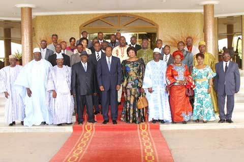 Chambre de commerce du burkina faso le bureau pr sent for Chambre de commerce du burkina