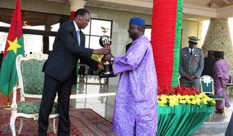 Vœux de nouvel an: Le personnel de la Présidence du Faso sacrifie à la tradition