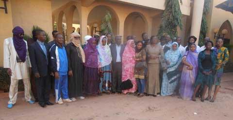 CONAREF: Echange entre acteurs de l'humanitaire  et Réfugiés maliens à Bobo