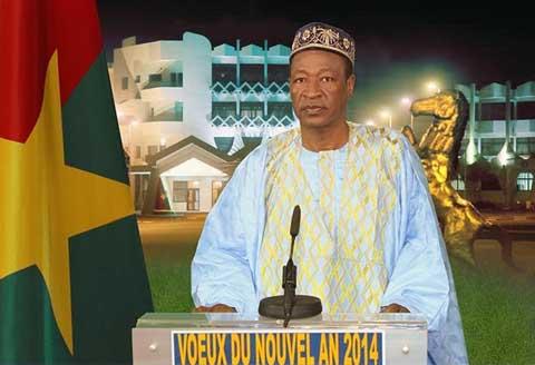 Vœux nouvel an 2014: message de son excellence monsieur Blaise Compaoré, président du Faso