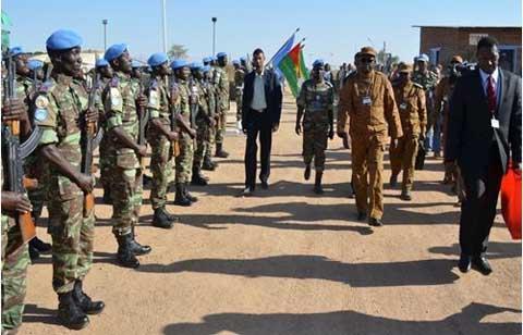 Armée burkinabè: 4 Colonels-majors promus Généraux de brigade