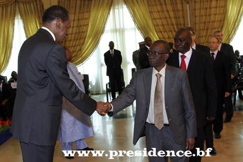 Vœux du corps diplomatique à Blaise Compaoré: Soutien au Président du Faso dans sa politique de raffermissement de la démocratie