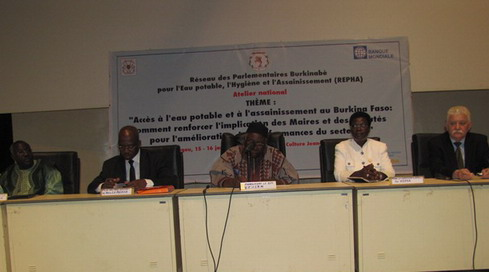 Eau potable, hygiène et assainissement: Une préoccupation pour l'Assemblée nationale