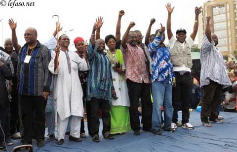 Journée nationale de protestation: Une véritable marée humaine à Ouaga