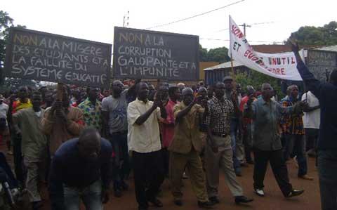 Journée nationale de protestation à Banfora: Les démissionnaires du CDP s'initient à l'opposition.
