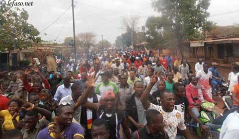 Journée nationale de protestation à Bobo: Encore plus de monde dans les rues