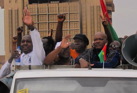 Etat Major Permanent de Crise de l'Opposition: «La marche finale prendra la direction Sud de la ville de Ouagadougou»