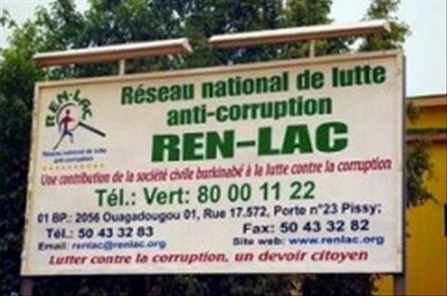 Voeux 2014 du REN-LAC:  Que la  loi portant prévention et répression de la corruption, soit adoptée
