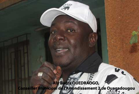 Secteur 9 de Ouaga: Présentation de vœux au conseiller Aly Badra Ouédraogo