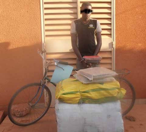 Bobo: Un trafiquant de cannabis dans les filets de la police