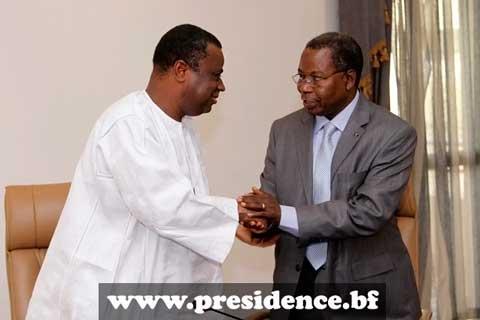 Direction de cabinet de la présidence du Faso: Kouanda passe le témoin à Topan
