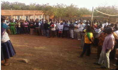Ecoles des cadres Moyens  en Travail Social de Gaoua: Les élèves observent une grève de 48 heures