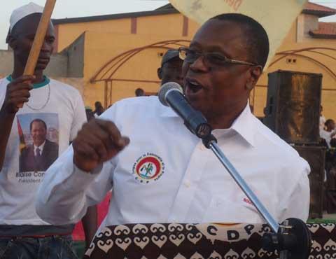 Meeting à l'arrondissement 2 de Bobo: Soungalo, Salia et Baba réaffirment leur soutien à Blaise Compaoré