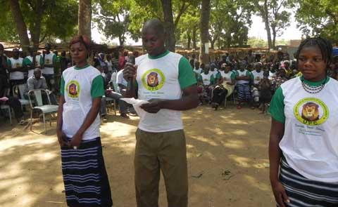 Tournée d'une délégation de l'UPC dans le Houet: Remerciements et conquête de l'électorat