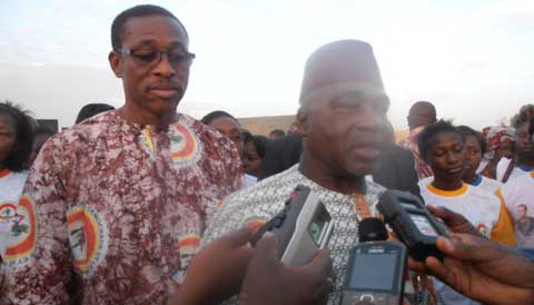 Meeting CDP à l'arrondissement 5 de Bobo: «Si on le veut, Djamila sera Présidente du Faso» dixit Salia Sanou